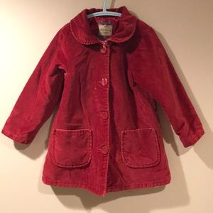 🌺OLD NAVY Red Velvet Coat